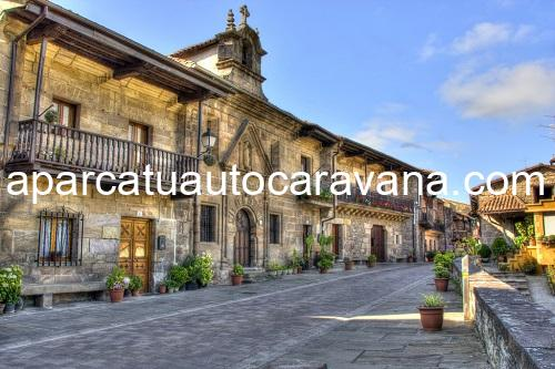 Área autocaravana en Cartes «Parking de Cartes» en, Cantabria