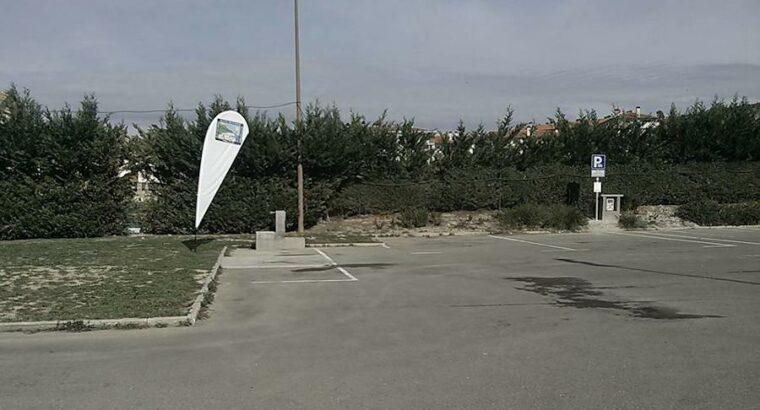 Área autocaravana en Sabiñánigo «Área de Pirenarium» en, Huesca