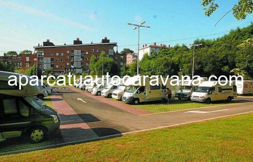 Área autocaravana en San Sebastián [Berio] «Área de Berio» en, Gipuzkoa