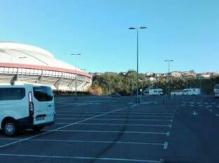 Área autocaravana en San Sebastián [Illumbe] «Área de Illumbe» en, Gipuzkoa