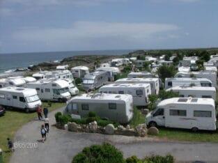 Área autocaravana en Viveiro [Ortegal Oil] «Área de Playa de Área» en, Lugo