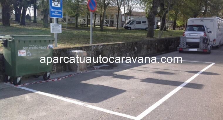 Área autocaravana en Amoeiro «Area de Amoeiro» en, Ourense