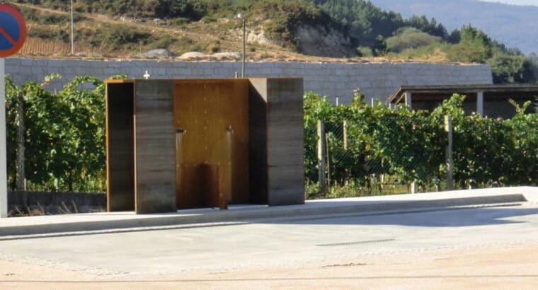 Área autocaravana en Pontedeva «Área de O Valiño» en, Ourense