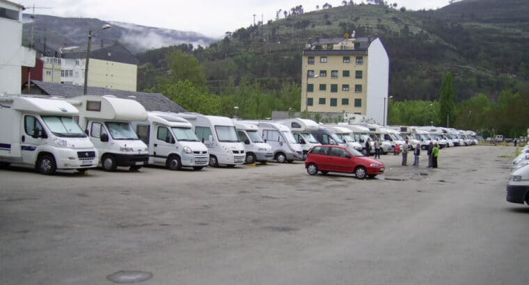 Área autocaravana en O Barco de Valdeorras «Área de O Barco» en, Ourense