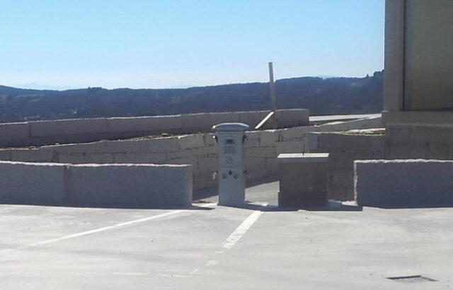 Área autocaravana en Riós «Area de O Viaxeiro» en, Ourense