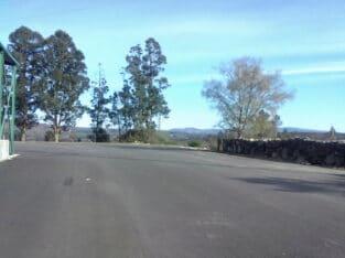 Área autocaravana en Agolada «Área de Agolada» en, Pontevedra