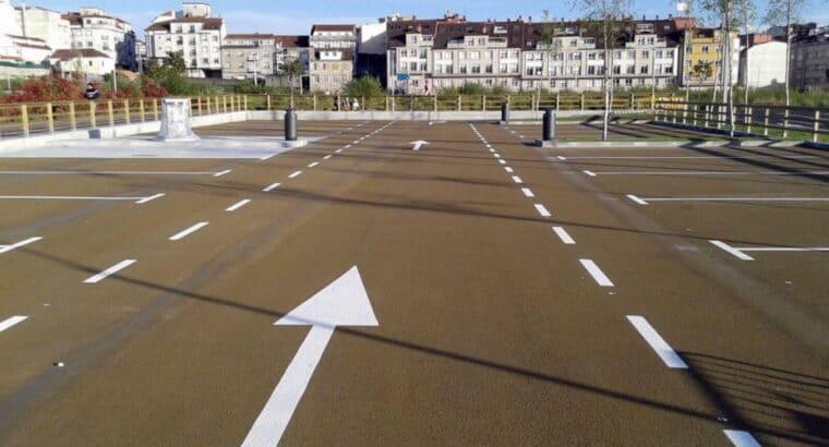 Área autocaravana en Vilagarcía de Arousa «Área de Fexdega» en, Pontevedra