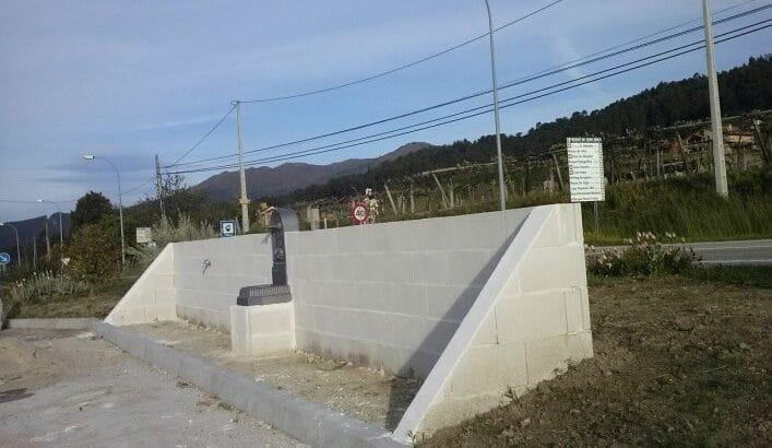 Área autocaravana en Arbo «Área de Arbo» en, Pontevedra