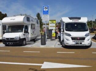 Área autocaravana en A Estrada (Regatos) «Área de Regatos» en, Pontevedra