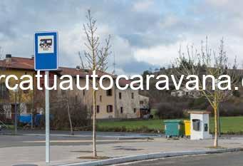 Área autocaravana en Agurain «Área de Agurain» en, Álava