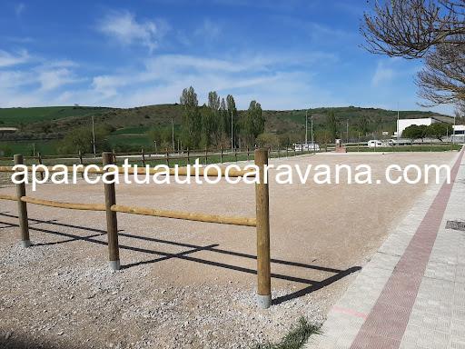 Área autocaravana en Sarriguren «Área de Sarriguren» en, Navarra