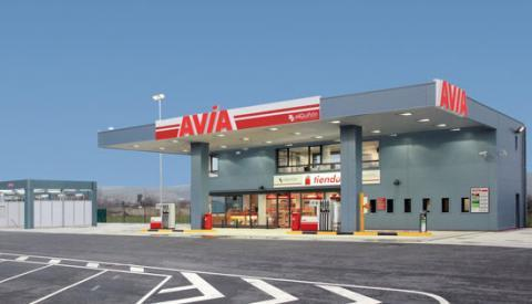 Área autocaravana en Tafalla «Área de Avia-Tafalla» en, Navarra