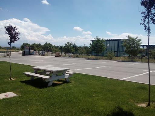 Área autocaravana en Viana «Área de Viana» en, Navarra